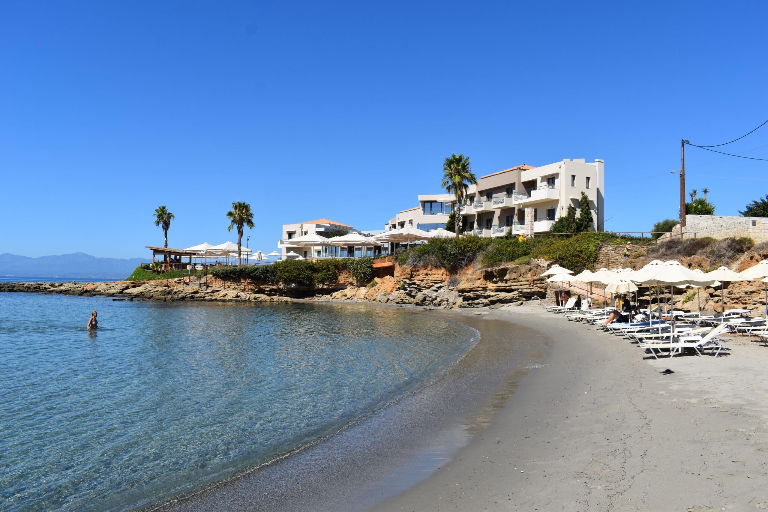 Huwelijksreis in Europa. Alas Resort op Peloponnesos, Griekenland.