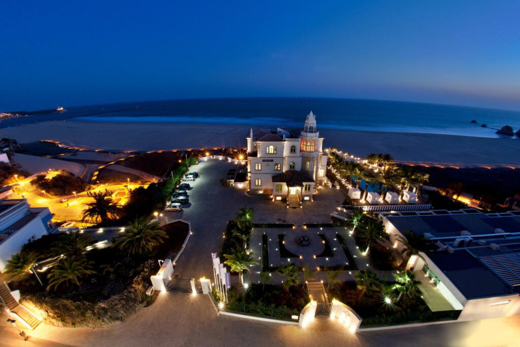 Huwelijksreis in Europa. Bela Vista in de Algarve, Portugal.