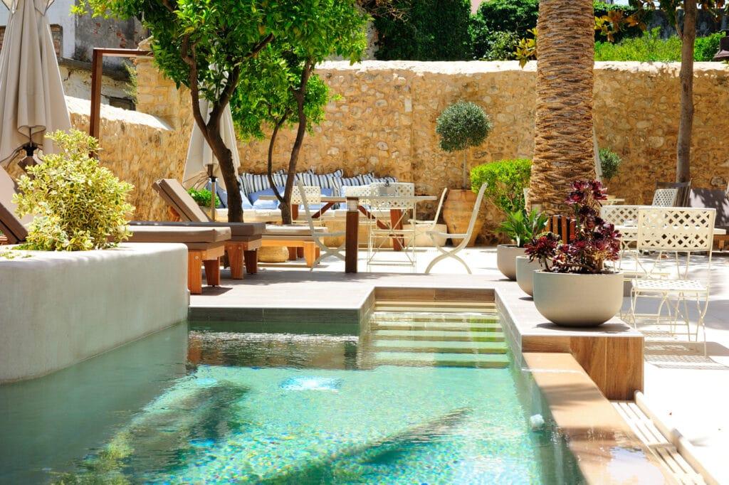 Huwelijksreis in Europa. Pepi Boutique Hotel op Kreta, Griekenland.