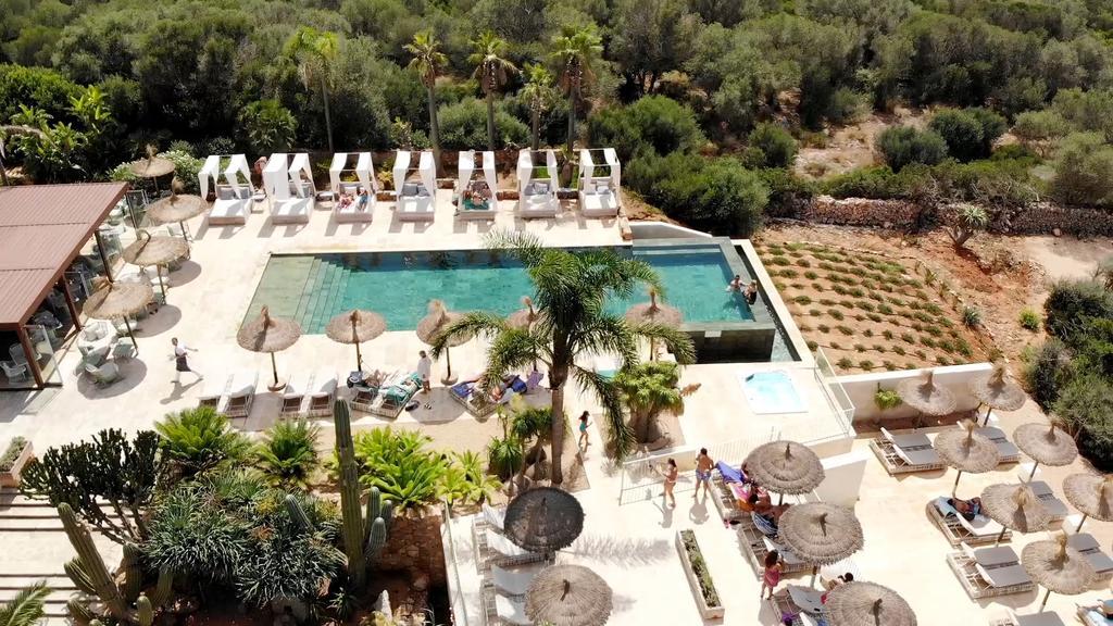 Huwelijksreis in Europa. Rural Es Turo in Mallorca, Spanje.