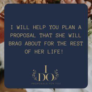 Huwelijksaanzoek plannen